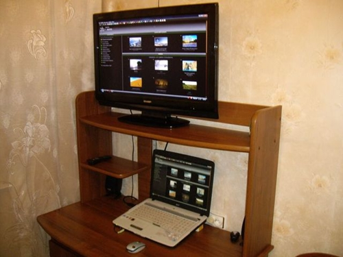 Схема подключения ноутбука к телевизору