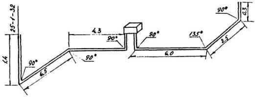 Монтаж электропроводок в стальных трубах