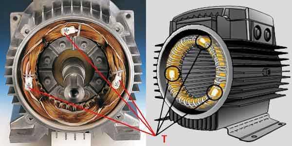 Защита обмоток электродвигателей