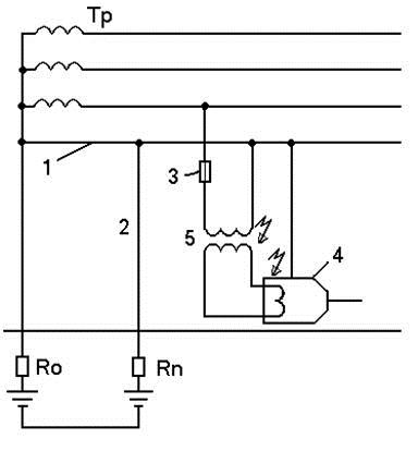 Защитное зануление электроустановок