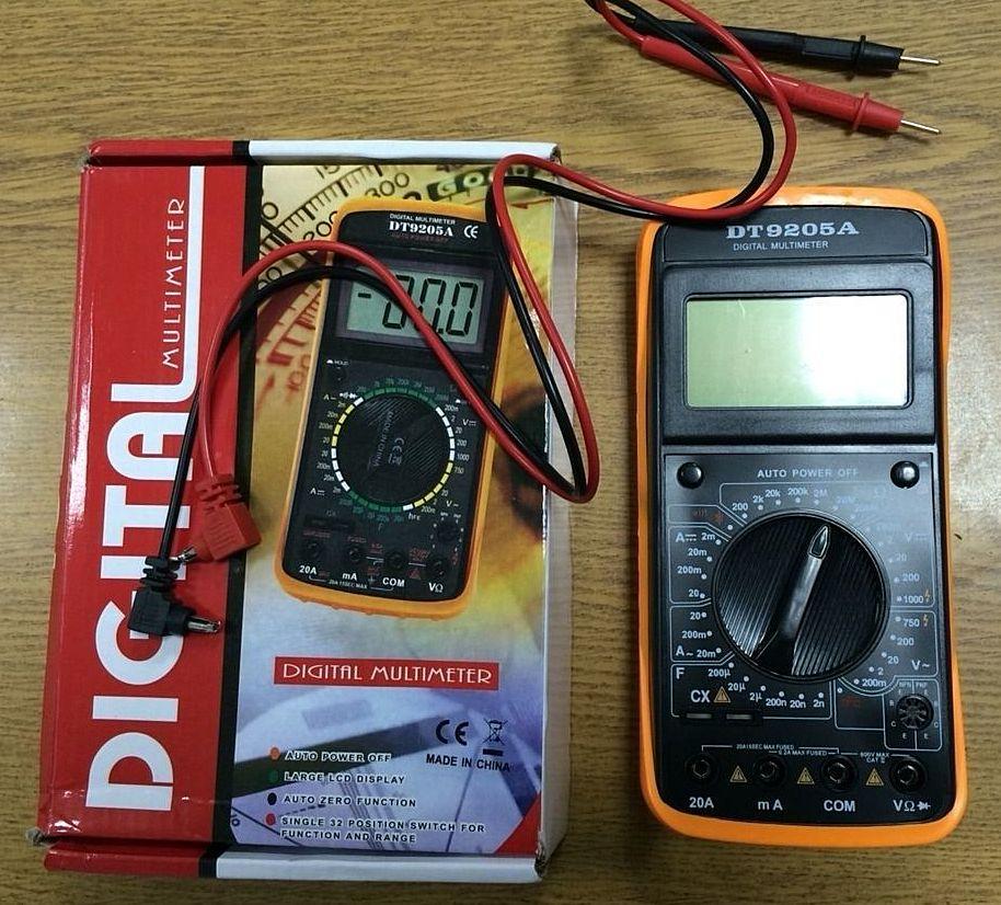 Электрические измерения мультиметром