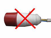 Неправильная разделка кабеля