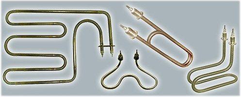 Формы трубчатых электронагревателей